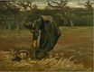 Peasant Woman Digging Up Potatoes 1885