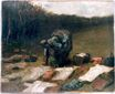 Peasant Woman Laundering 1885