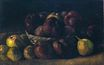 Still Life with a Basket of Apples 1885