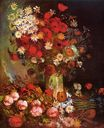Still Life with Meadow Flowers and Roses 1886