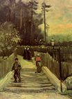Sloping Path in Montmartre 1886
