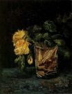 Glass with Roses 1886