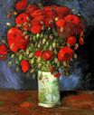 Vase with Red Poppies 1886