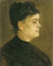 Portrait of a Woman, Facing Right 1886
