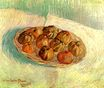 Still Life with Basket of Apples to Lucien Pissarro 1887