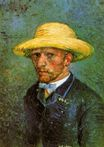 Self-Portrait with Straw Hat 1887