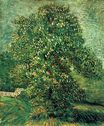 Chestnut Tree in Blossom 1887