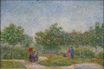Couples in the Voyer d'Argenson Park at Asnieres 1887