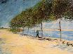 Walk Along the Banks of the Seine Near Asnieres 1887