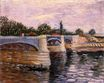 The Seine with the Pont de la Grande Jette 1887