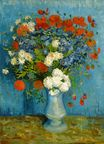 Vase with Cornflowers and Poppies 1887