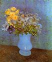 Vase with Lilacs, Daisies and Anemones 1887