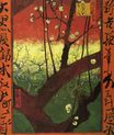 Japonaiserie Flowering Plum Tree after Hiroshige 1887