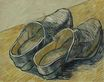 Pair of Leather Clogs 1888