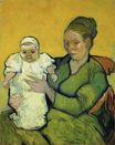 Mother Roulin with Her Baby 1888