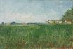 Farmhouses in a Wheat Field Near Arles 1888