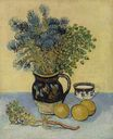 Still Life, Majolica Jug with Wildflowers 1888