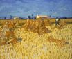 Harvest in Provence 1888
