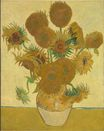 Still Life, Vase with Fifteen Sunflowers 1888
