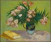 Still Life, Vase with Oleanders and Books 1888
