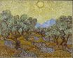 Olive Trees with Yellow Sky and Sun 1889
