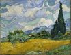 Wheat Field with Cypresses at the Haute Galline Near Eygalieres 1889