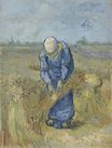 Peasant Woman Binding Sheaves after Millet 1889
