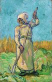 Peasant Woman with a Rake after Millet 1889