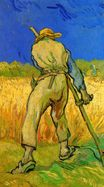The Reaper after Millet 1889
