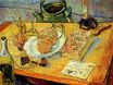 Still Life Drawing Board, Pipe, Onions and Sealing-Wax 1889
