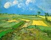 Wheat Fields at Auvers Under Clouded Sky 1890