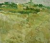 Wheat Fields with Auvers in the Background 1890