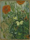 Poppies and Butterflies 1890