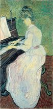 Marguerite Gachet at the Piano 1890