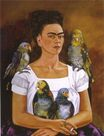 Frida Kahlo - Me and My Parrots 1941
