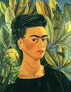 Frida Kahlo - Self-Portrait with Bonito 1941