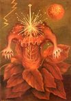 Frida Kahlo - Flower of Life. Flame Flower 1943