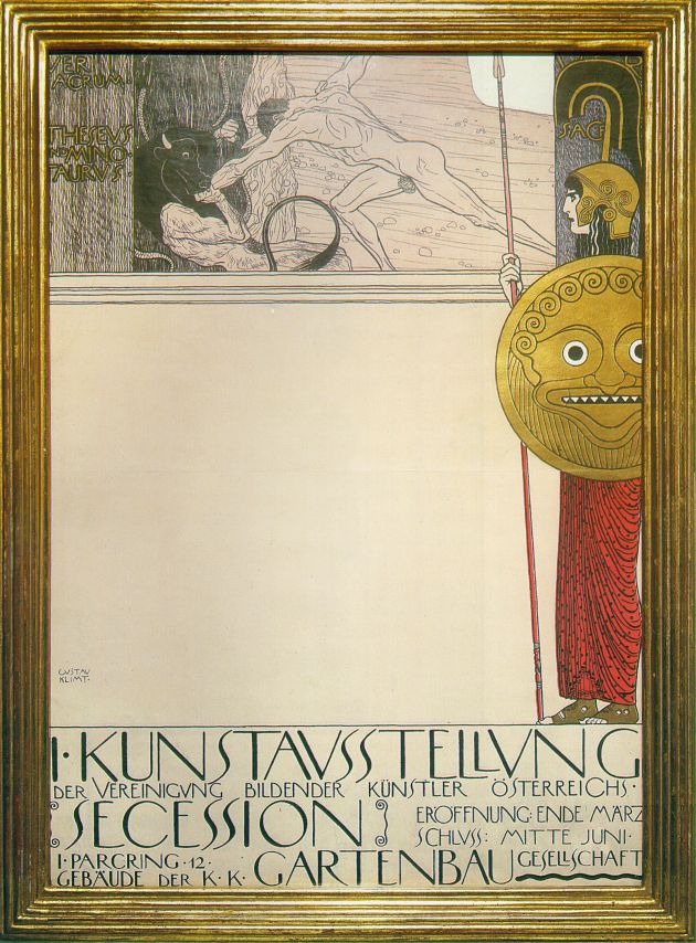 Poster for the First Art Exhibition of the Secession 1898