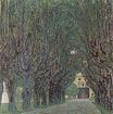 Avenue of Schloss Kammer Park 1912