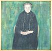 Portrait of Barbara Floge. Mother of Emilie Floge 1915
