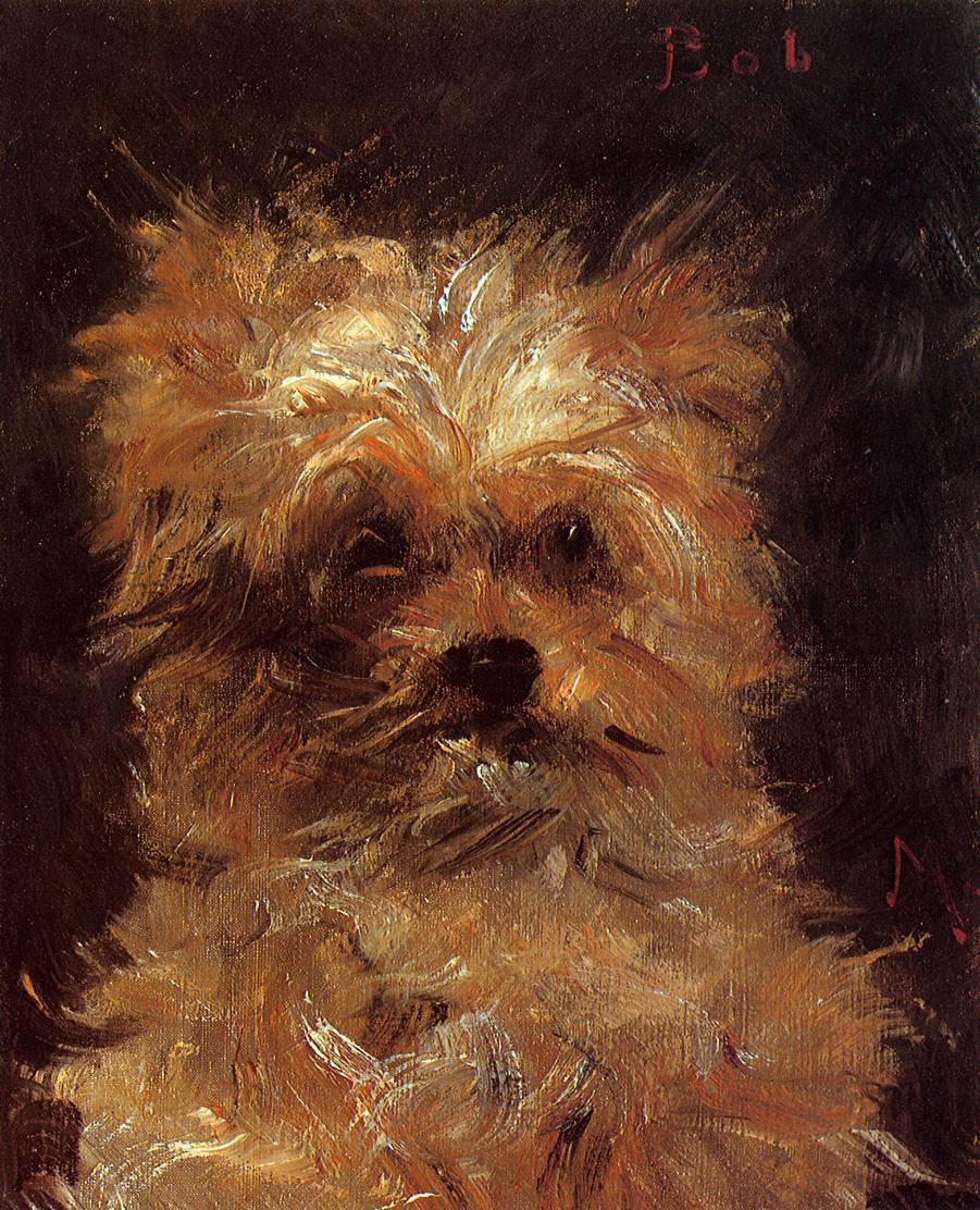 Head of a Dog 1876