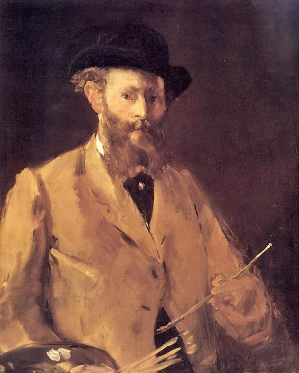 Self Portrait with a Palette 1879