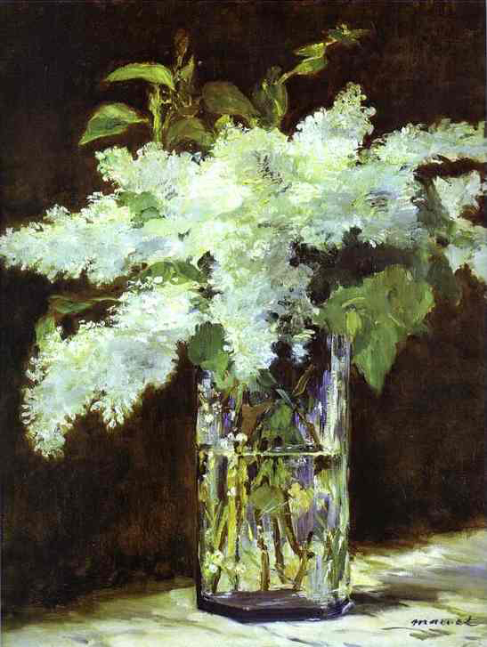 Lilac in a glass 1882