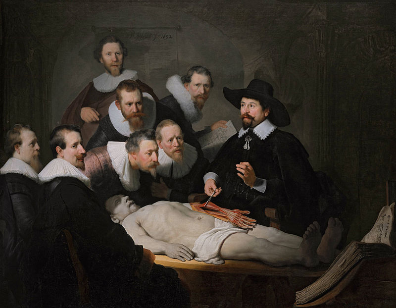 The Anatomy Lesson of Dr. Nicolaes Tulp is a 1632