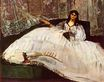 Jeanne Duval, Baudelaire's Mistress, Reclining 1862