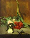 Peony stem and shears 1864