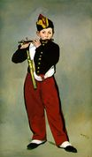 Édouard Manet most famous paintings. The Fifer 1866