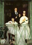 Édouard Manet most famous paintings. The Balcony 1869