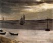 The Bay of Arcachon and Lighthouse on Cape Ferret 1871
