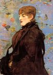 Autumn. Study of Mery Laurent 1882